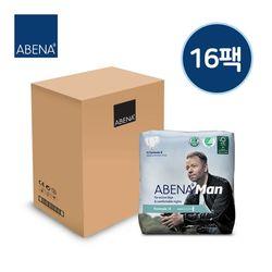 아베나 라이트 패드 남성용 1박스(15매x16팩)