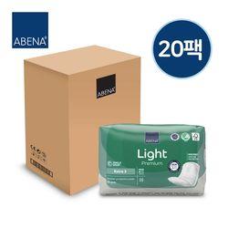아베나 라이트 패드 여성용 엑스트라 1박스(10매x20팩)