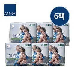 아베나 라이트 팬티 남녀공용 대형 1박스(14매x6팩)