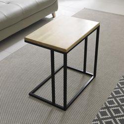 원목 사이드 소파 테이블 YCG021