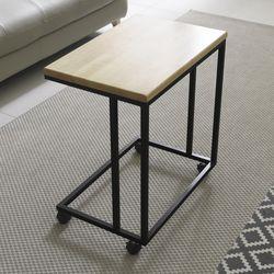 원목 이동식 사이드 소파 테이블 YCG022