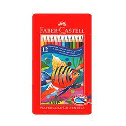 파버카스텔 수채색연필 12색 틴케이스 115929