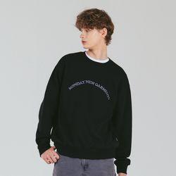 [예약판매 10/28 순차배송] 아치 로고 맨투맨 (블랙)