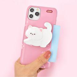 나인어클락 하드 고양이 냥이 카드슬림 케이스+냥이톡 세트
