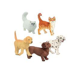 애완동물 피규어 5종세트(253229251529100203235529239629)
