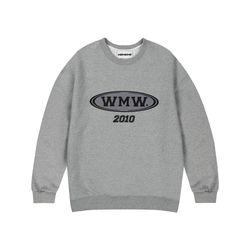WMW 2010 SWEATSHIRT GRAY