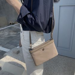 mini ff bag - beige