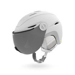 ESSENCE MIPS (아시안핏) 여성용 바이저 헬멧  MATTE WHITE