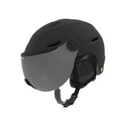 ESSENCE MIPS (아시안핏) 여성용 바이저 헬멧 MAT BLK GLS BLK