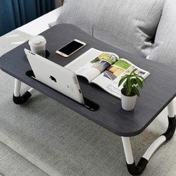컵홀더 접이식 노트북 테이블/좌식책상