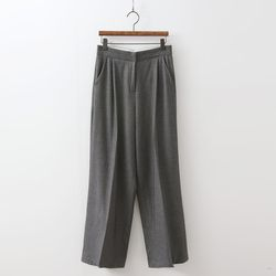 N Herringbone Wide Pants