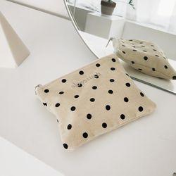 mini dot pouch