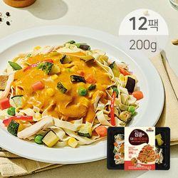심쿵 매콤커리 두부 파스타 200g x 12팩