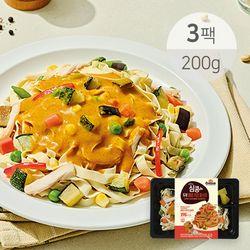 심쿵 매콤커리 두부 파스타 200g x 3팩