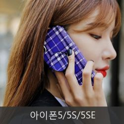와프 아이폰5/5S/5SE WNY 체크체크 그립톡케이스
