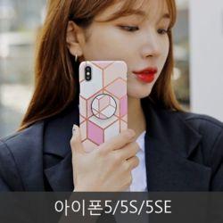 와프 아이폰5/5S/5SE WNW 마블마블 그립톡케이스