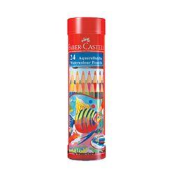 파버카스텔 수채색연필 24색 원형틴케이스 115924