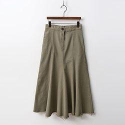 N Mermaid Denim Long Skirt