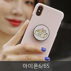 와프 아이폰6/6S WPT 냥냥즈 그립톡케이스