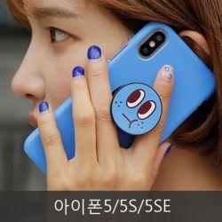 와프 아이폰5/5S/5SE WPP 페이스 그립톡케이스