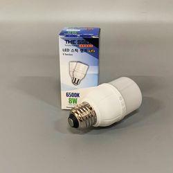 더쎈 LED 스틱 램프 8W 6500K 주광색 하얀빛