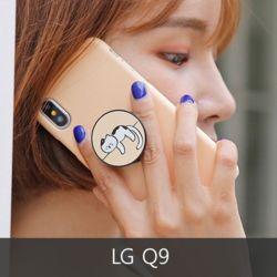 와프 LG Q9 WPN뚱냥이 그립톡케이스