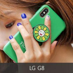 와프 LG G8 WPO 겸플라워 그립톡케이스