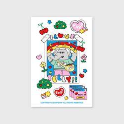 kkikki love jelly(엽서)