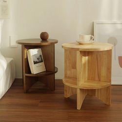 원목 협탁 사이드 테이블 논슬립 스펀지  (2type)