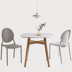 루턴2인용 식탁세트(의자포함)