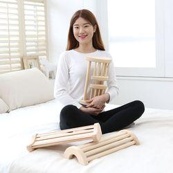 항균 편백나무 경침 꿀잠 베개