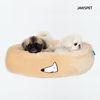 베이직생활방석 베이지 강아지방석 도넛방석 고양이방석