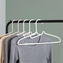 키밍 옷깃 자국안하는 옷걸이 옷장정리 세탁 수납 용