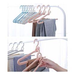 키밍 1단 바지걸이 양복바지걸이 옷걸이 옷장정리 3개