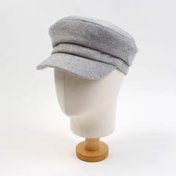Mild Wool Light Gray Marine Cap 마린캡