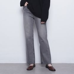W16 paid bootcut  grey