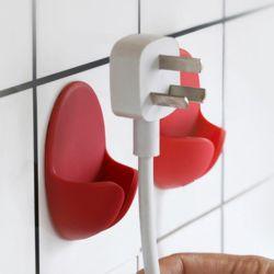 키밍 욕실 플러그 거치 홀더 인테리어 심플 레드 컬러