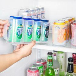 키밍 핸들 캔 수납함 냉장고 음료수 잼 케이스