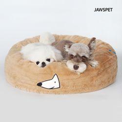 시그니처생활방석 브라운 강아지방석 도넛방석 고양이방석