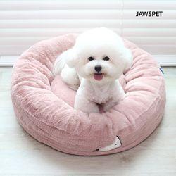 시그니처생활방석 핑크 강아지방석 도넛방석 고양이방석