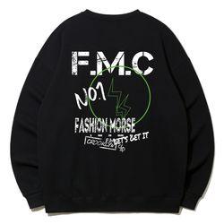크루클린 스트릿 빈티지 FMC 오버핏 맨투맨 티셔츠 MRL922