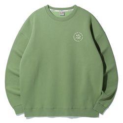 크루클린 위드 유 오버핏 맨투맨 티셔츠 MRL921 (4 Color)