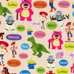 디즈니 리폼 패브릭 스티커 - 토이스토리 말풍선 A4