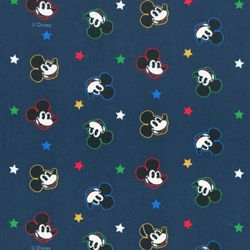 디즈니 리폼 패브릭 스티커 - 미키 트윙클 스타 A4