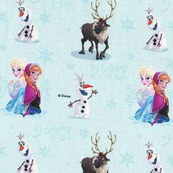 디즈니 리폼 패브릭 스티커 - 겨울왕국 프로즌 홀리데이 A4
