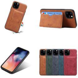 아이폰11 PRO MAX/카드 지갑 거치대 가죽 범퍼 케이스