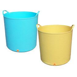[캠프]대용량 다용도 바구니빨래통목욕통장난감정리함-96리터