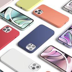 엘라고 아이폰12 프로맥스 케이스 실리콘
