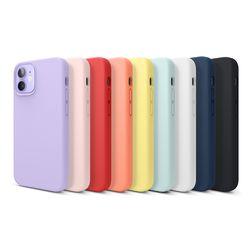 엘라고 아이폰12 미니 케이스 실리콘