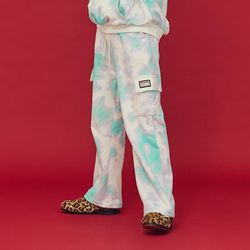 NEONMOON 20FW Pocket Tie-dye Pants